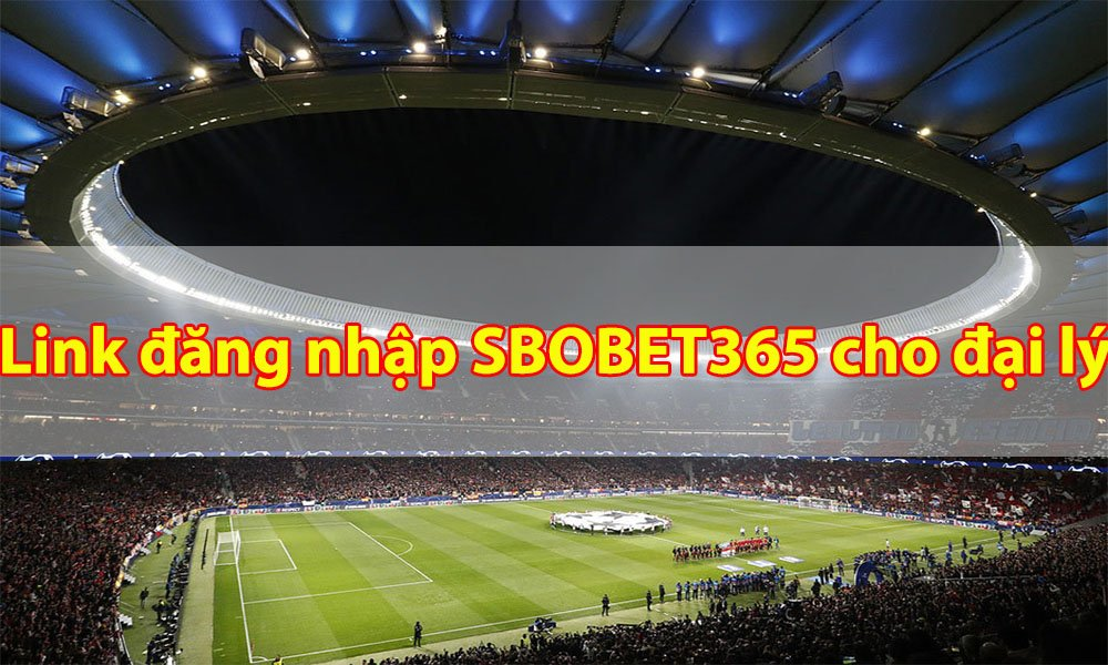 Link đăng nhập dành cho đại lý tại SBOBET365