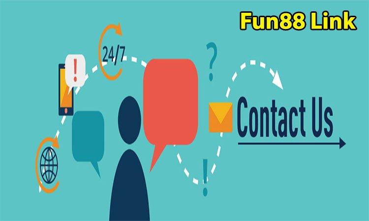 Liên hệ với Fun88 Link